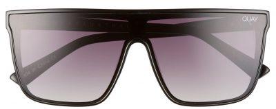 Black Night Fall Gradient Flat Top Sunglasses