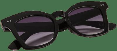 Black Rhea Square Sunglasses-Anthropologie
