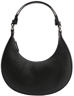 Black Round Bag-Mango