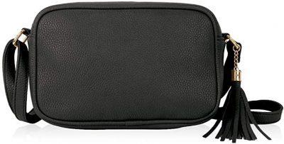 Black Tassel Camera Bag-RIAH FASHION