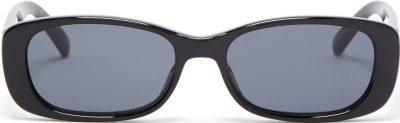 Black Unreal! Rectangle Acetate Sunglasses