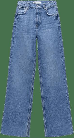 Blue The '90S Full Length Jeans-Zara