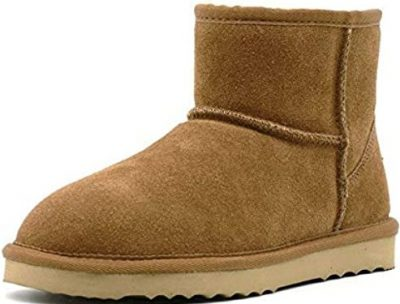 Bondi Tan Short Ankle Boots-Aus Wooli