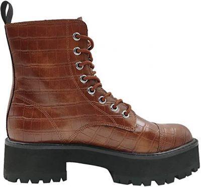 Brown Croc Cammy Boots