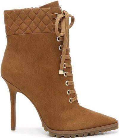 Brown Jordie Bootie-JLO Jennifer Lopez