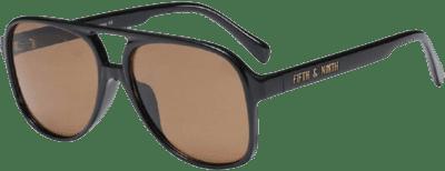 Brown Kingston Sunglasses-Fifth & Ninth