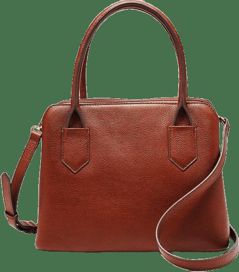 Brown Lana satchel