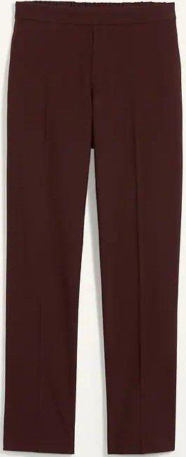 Brown Tupelo Straight Full-Length Pants-Old Navy
