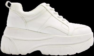 Cali White Chunky Sneakers-Topshop