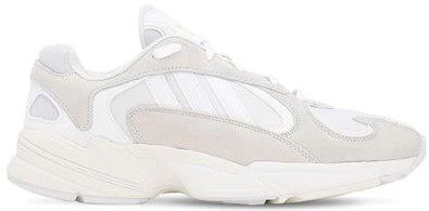 Chalk White Yung-1 Sneakers-Adidas