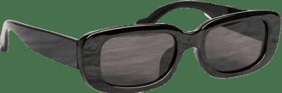 Chic Black Rectangle Sunglasses