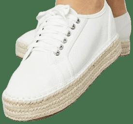 Cream James Flatform Sneaker Espadrilles-Asos Design