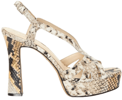 Creamsicle Kelisha Platform Sandals