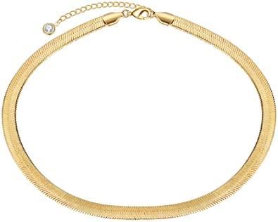 Dainty Gold Choker Necklace-Turandoss