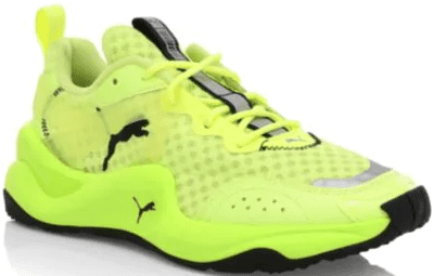 Fizzy Yellow Rise Neon Sneakers-Puma