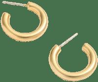 Gold Chunky Small Hoop Earrings-Madewell