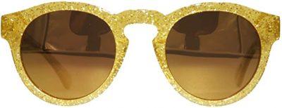 Gold Glitter Glasses-GoldLyfe