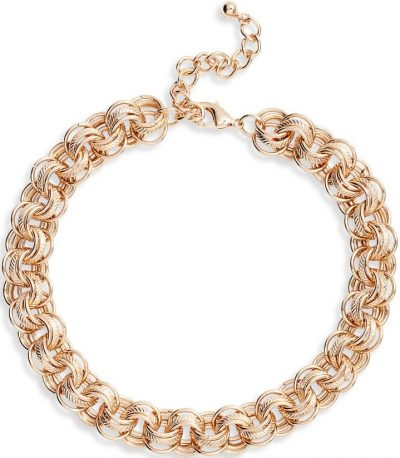 Gold Jojo Chain Collar Necklace-8 Other Reasons