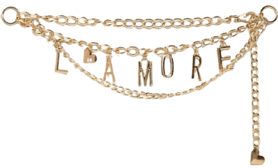 Gold L'amore Waist and Hip Chain