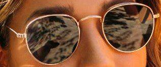 Gold Taylor Small Round Sunglasses-Francesca's