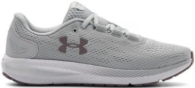 Grey Charged Pursuit 2 Running Shoes-Under Armour