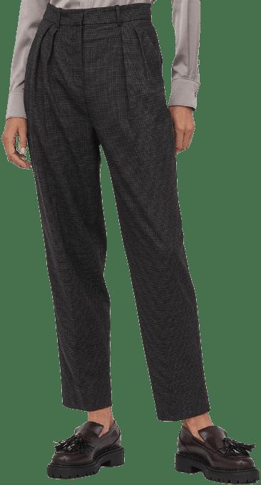 Grey Dress Pants-H&M