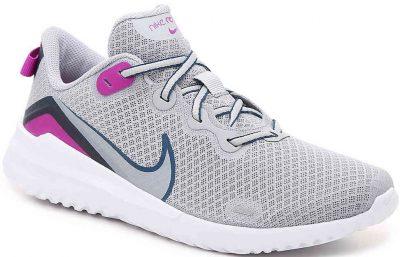 Grey Renew Ride Running Shoe-Nike