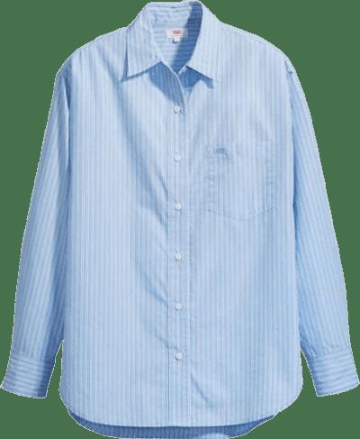 Lightwash Denim Pocket Dad Shirt