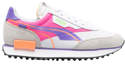 Multicolor Panelled Sneakers