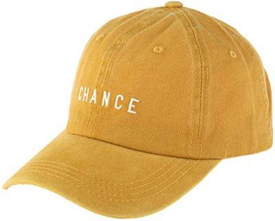 Mustard Chance Baseball Cap-Riah Fashion