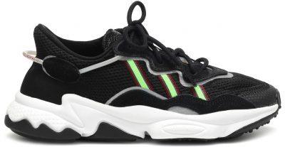 Neon Green Ozweego Mesh Sneakers