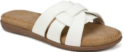 Off White Fredie Slide Comfort Sandals-Cliffs By White Mountain