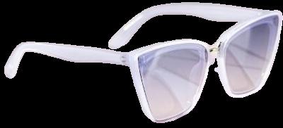 Pearl Charlotte Angular Cat Eye Sunglasses-Francesca's