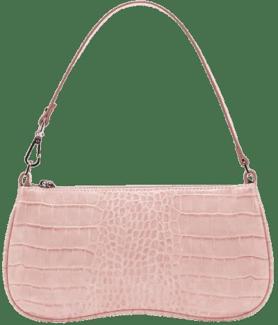 Pink Croc Eva Shoulder Bag-JW PEI