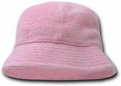 Pink Terry Bucket Hat