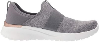 Quiet Grey Trista Slip-On Sneakers-Ryka