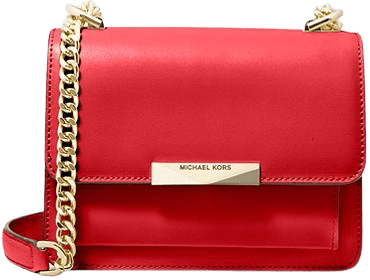 Red Jade Extra-Small Leather Crossbody Bag-Michael Kors