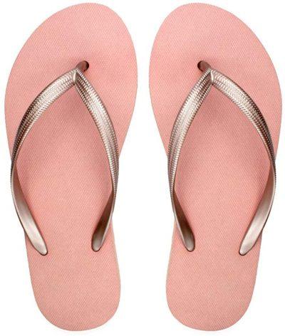 Rose Flip Flop Sandals