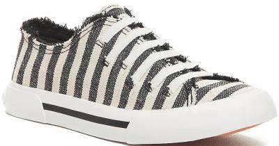 Striped Jokes Slip-On Sneaker-Rocket Dog