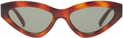 Synthcat Cat-Eye Acetate Sunglasses-Le Specs