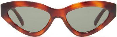 Synthcat Cat-Eye Acetate Sunglasses-Le Specs