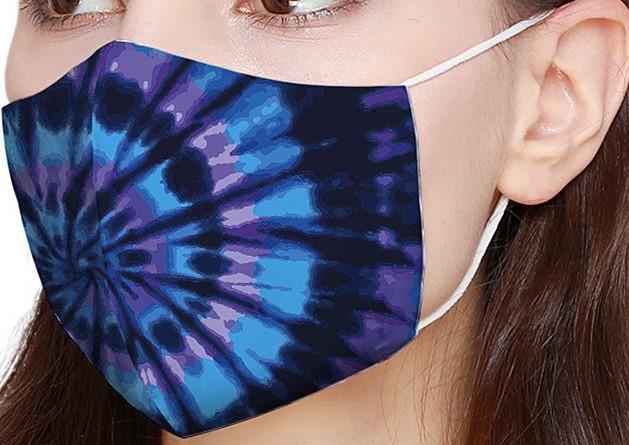 Tie-dye Non-medical Face Mask-Shinichistar