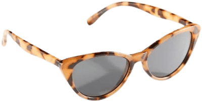 Tortoise Calistoga Cat-Eye Sunglasses-Urban Outfitters