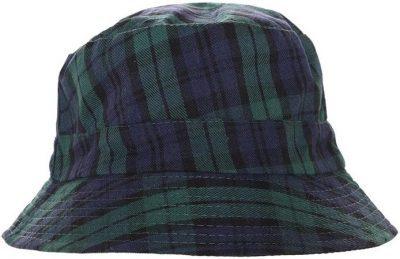 Travis Plaid Bucket Hat-Fashion Nova