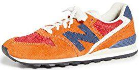 Vintage Orange 996 V2 Sneakers-New Balance