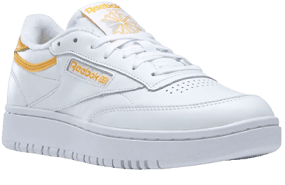 White Club C Double Sneakers