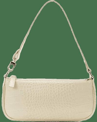 White Crocodile Pattern Baguette Bag-Sunrise Lucky Bag