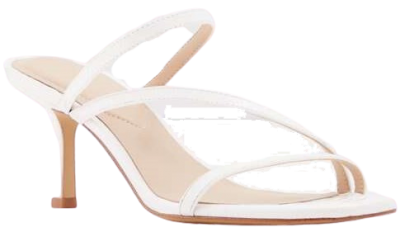 White Kaeidia High Heel Sandals
