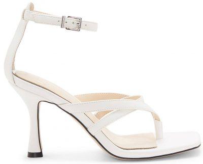 White Opral Sandals