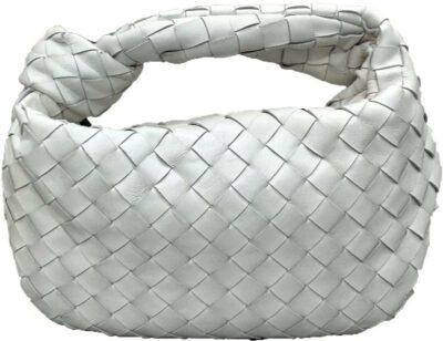 White PU Woven Bag-Jian E